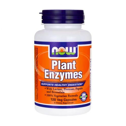 Плант ензим Now, 120 бр. -
