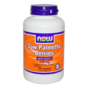 Saw Palmetto Berries 550 мг, Now, 100 бр.