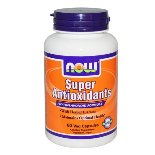 Супер антиоксиданти Now, 60бр. -