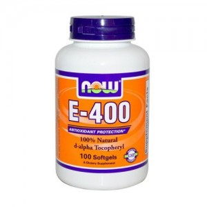 Vitamin E-400 IU MT, Now, 100 бр.