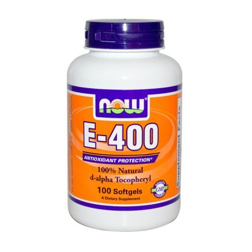 Витамин Е 400 IU Now, 100бр. -