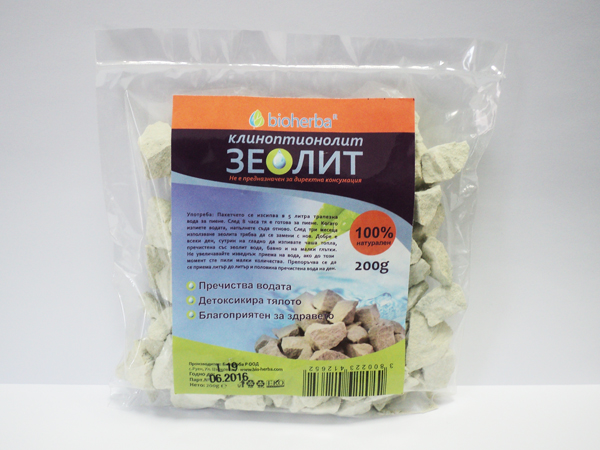 Зеолит клиноптионолит Bioherba, 200гр. - Bioherba