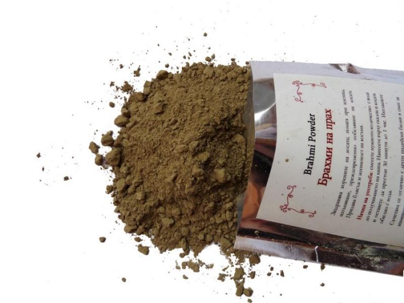 Брахми на прах HennaFox, 100гр. - HennaFox