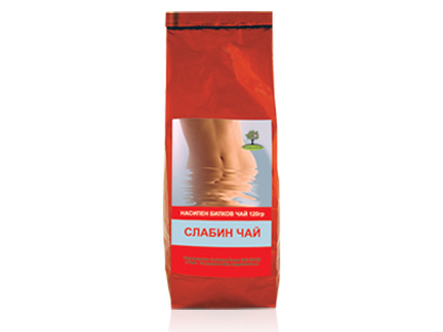 Слабин чай Bioherba, 120 гр. - Bioherba